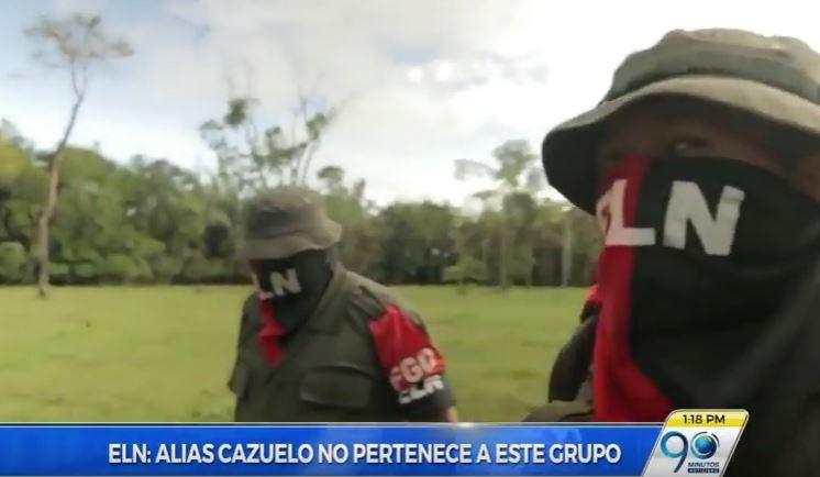 Exclusiva: ELN aseguró que alias Cazuelo no pertenece a su organización