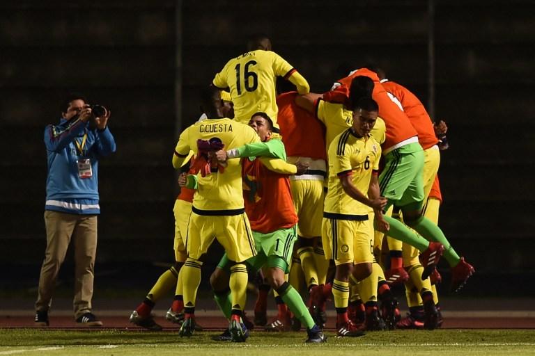 Con gol agónico, Colombia derrotó a Brasil 1 – 0 en sudamericano Sub 20