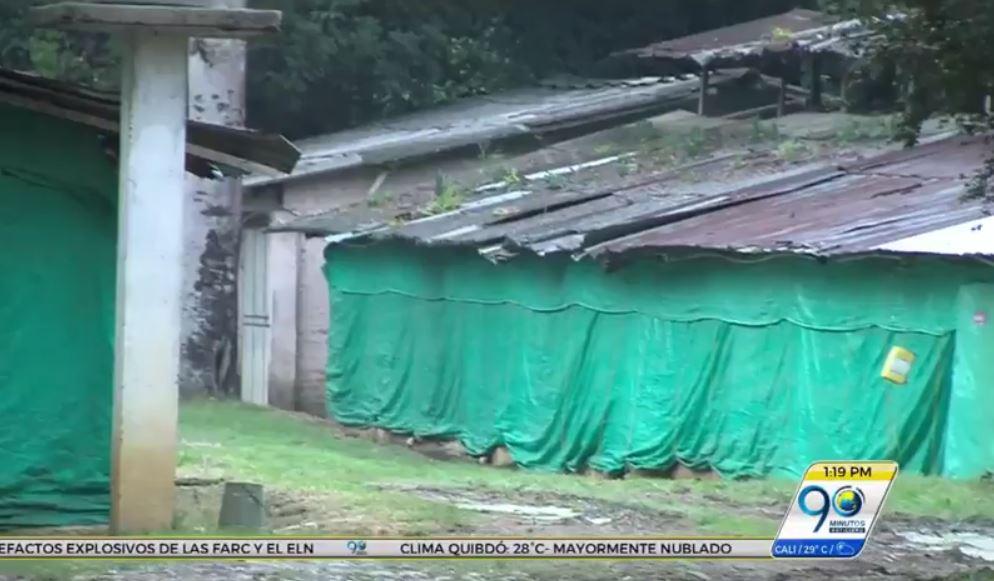 Habitantes de Potrerito protestan por malos olores generados por avícola