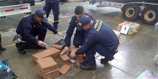 En mar de Honduras incautan 713 kilos de cocaína enviados del Valle