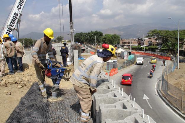 Obras de Avenida Ciudad de Cali serían terminadas en Noviembre
