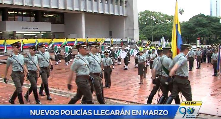 Comandante de policía de Cali anunció la llegada de 300 uniformados a la ciudad