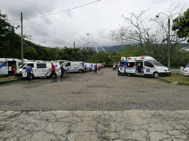 Continúa revisión a ambulancias para habilitación en Cali