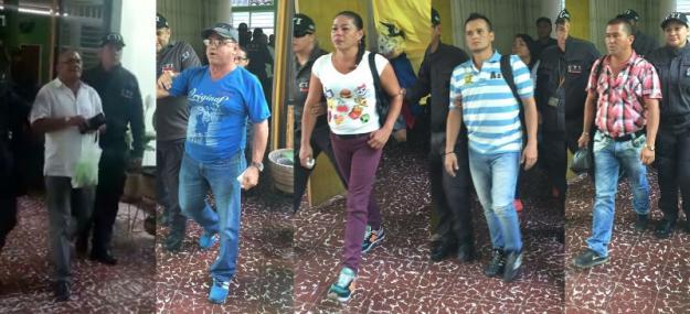 Ordenan recaptura a cinco concejales del municipio de Riofrío