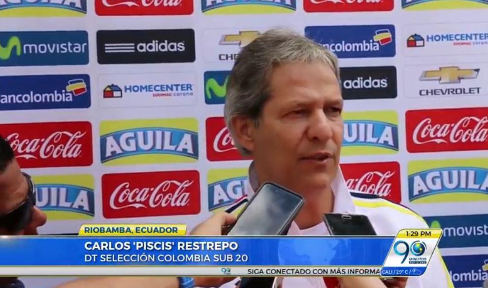 Selección Colombia sub 20 obligada a ganar para continuar en suramericano