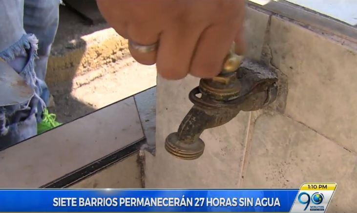 Hasta este hoy siete barrios del norte de Cali sin servicio de agua