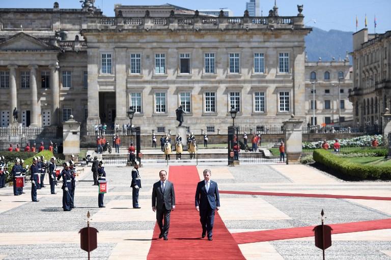 Visita de Hollande fortalece respaldo a proceso de paz: Farc