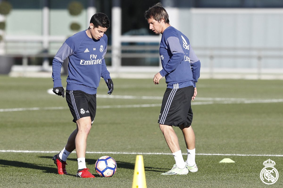 Zidane confía en que James pueda volver la próxima semana