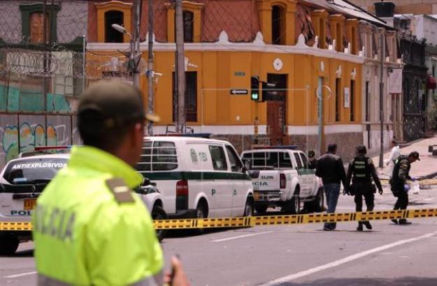 40 heridos deja atentado en La Macarena, en Bogotá