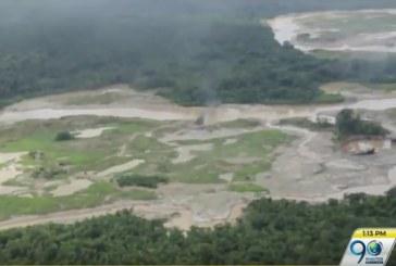 Incautan 25 dragones dedicados a ejercer minería ilegal en Chocó