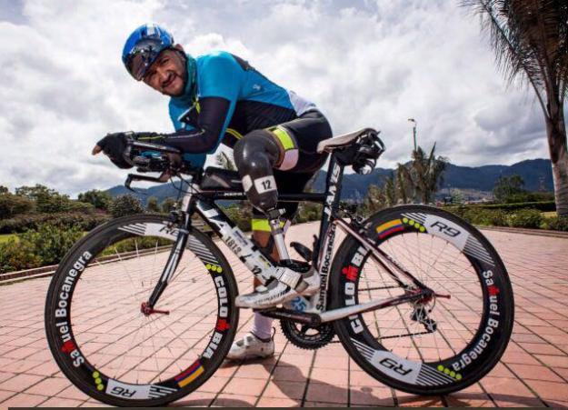 El 'Ironman' colombiano se convierte en ejemplo de superación