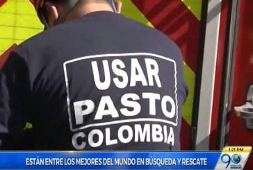 Bomberos de Pasto exaltados como los mejores en búsqueda y rescate