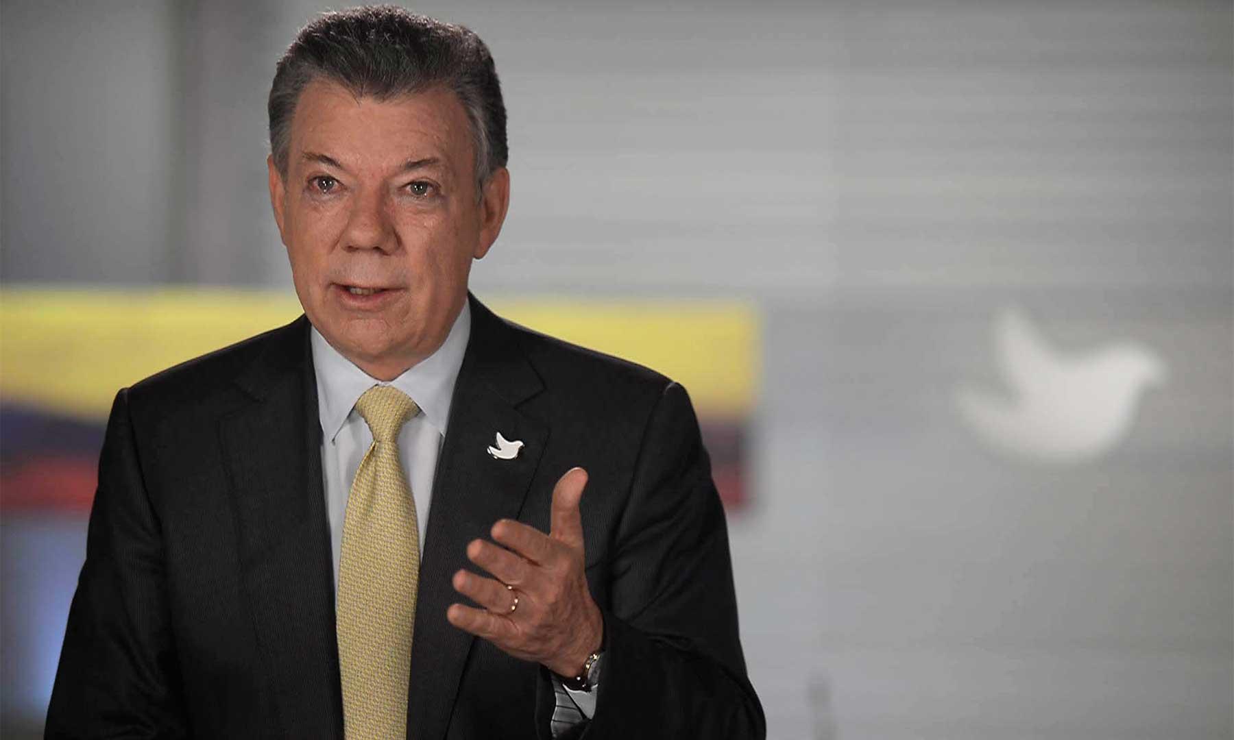 Presidente Santos hablará este sábado con Donald Trump
