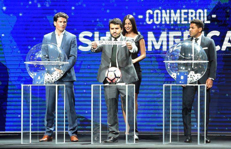 """Se sorteó la """"nueva"""" Copa Sudamericana de 54 equipos"""