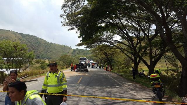 Aumentó a seis el número de muertos por accidente en vía Yumbo – Vijes