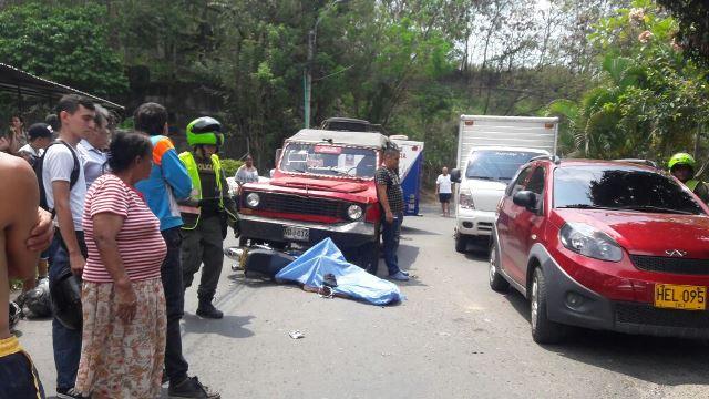 Accidente de tránsito cobró la vida de un motociclista en el Aguacatal