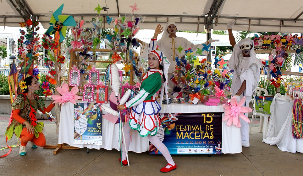 Conozca el afiche oficial del Festival de Macetas de Cali