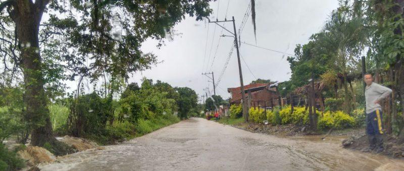 En el 90% del Valle se han registrado lluvias: Cruz Roja