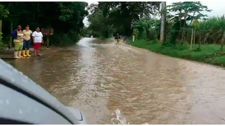 38 familias damnificadas por inundaciones en Jamundí
