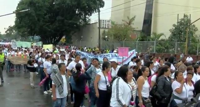 Madres comunitarias exigen al Gobierno reconocimiento de sus derechos