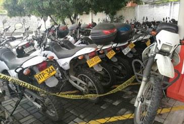 Por falta de mantenimiento 50 motos de Secretaría de Movilidad están varadas