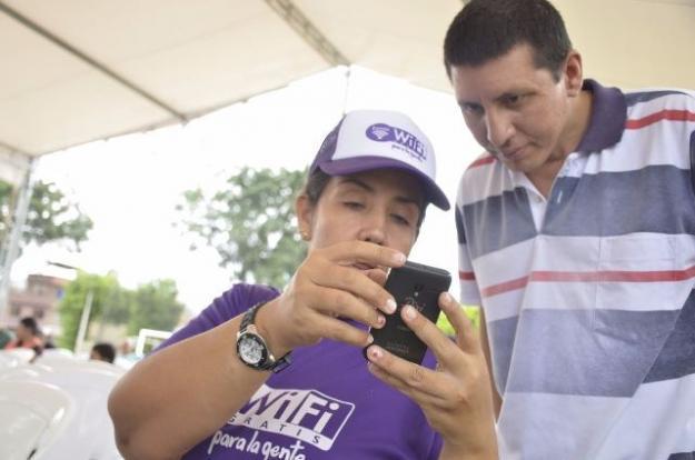 MinTic inauguró hoy la primera zona WiFi gratuita en Cali
