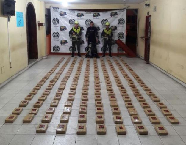 Autoridades incautan 208 kilos de cocaína en Buenaventura