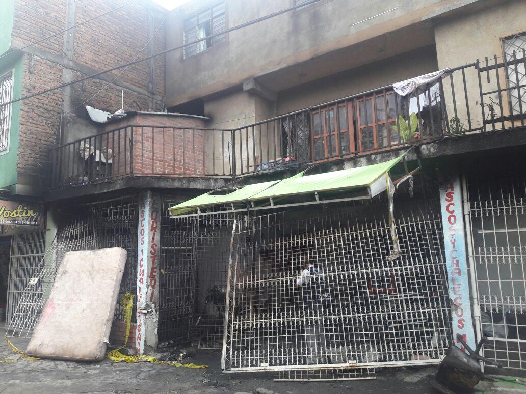 Incendio en barrio Ciudad Córdoba dejó ocho personas heridas en el oriente de Cali