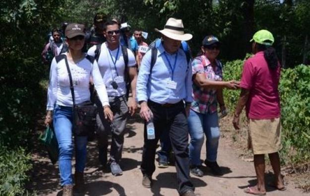 Iniciaron las visitas del Gobierno a las zonas veredales