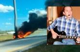 Músico caleño murió en incendio tras accidente en carretera de EE.UU.