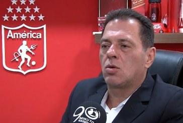 Tulio Gómez, presidente de América de Cali, ya busca refuerzos