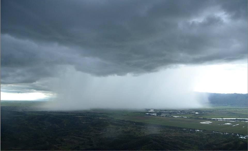 Temporada de lluvias continuará hasta mes de junio en el Valle