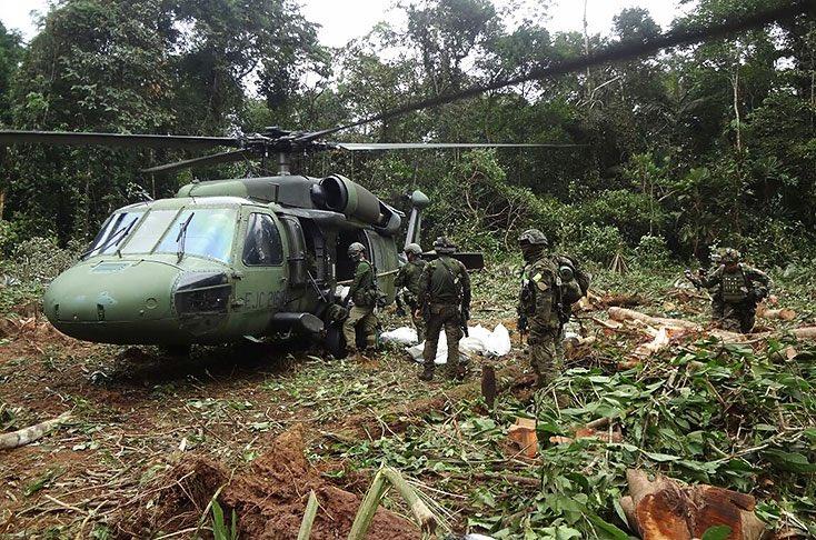 En ofensiva militar mueren ocho guerrilleros del Eln en  Norte de Santander