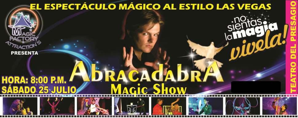 Espectaculo Abracadabra Teatro del Presagio