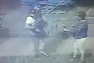 Alexis Viera difundió video que capta el asalto a su esposa en Cali