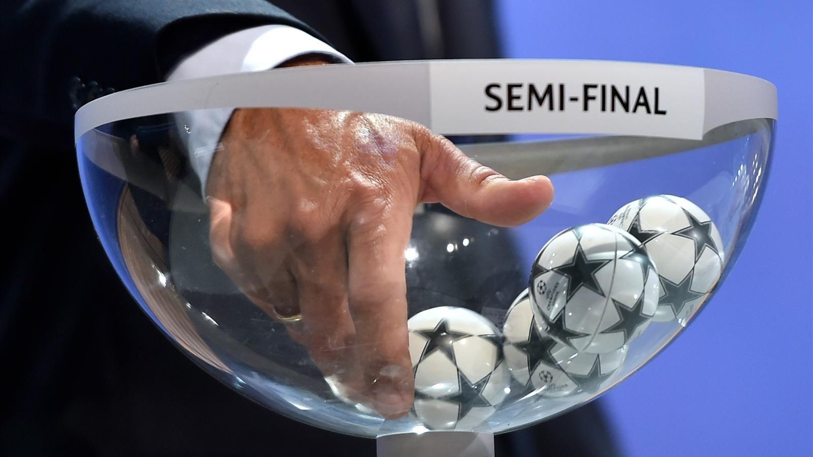 En semifinales de Champions League habrá equipos con tradición copera
