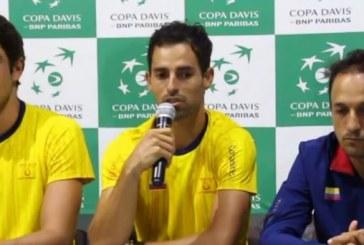 Colombia buscará por quinta vez entrar al grupo mundial de la Copa Davis