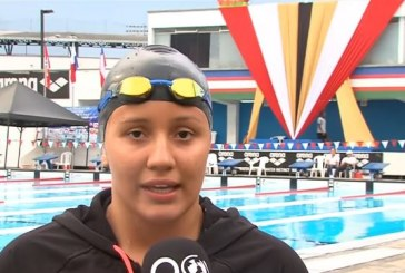 Daniela Gutiérrez fue la figura del Torneo Internacional de Natación que finalizó en Cali