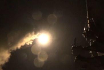 Estados Unidos responde con nutrido bombardeo luego de ataque químico de Siria