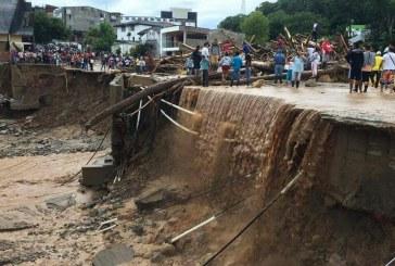 Presidente Santos anunció ayudas para damnificados de tragedia en Mocoa, Putumayo