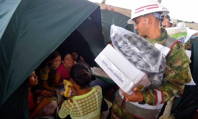 Gobierno invertirá 40 mil millones de pesos para atender a Mocoa