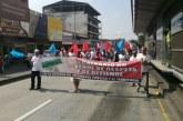 Habitantes del Jarillón y barrios aledaños a San Pascual realizaron jornada de protestas en Cali