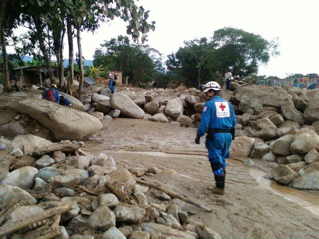 Este jueves finalizan operaciones de rescate en Mocoa por la Cruz Roja