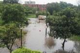 Lluvias de este miércoles ocasionaron inundaciones y colapso de la movilidad