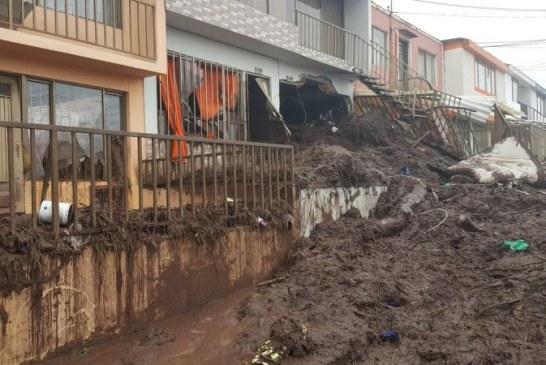 Tragedia invernal deja 17 muertos en Manizales