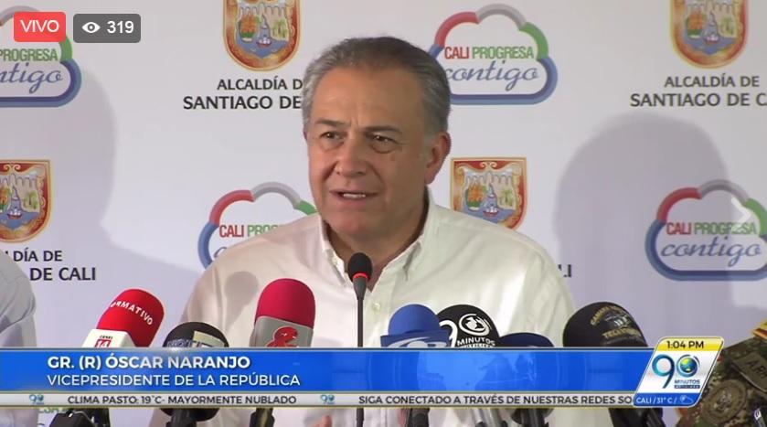 Vicepresidente presenciará partido de fútbol entre expandilleros de Cali