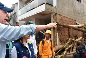 Presidente de la República encabeza misión humanitaria en Mocoa, Putumayo