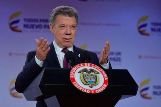 ¿Dónde están los millones de dólares que iban a gastar las Farc en elecciones?: Santos