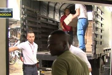 Siete toneladas de ayuda humanitaria fueron enviadas a Mocoa por la Cruz Roja en Cali