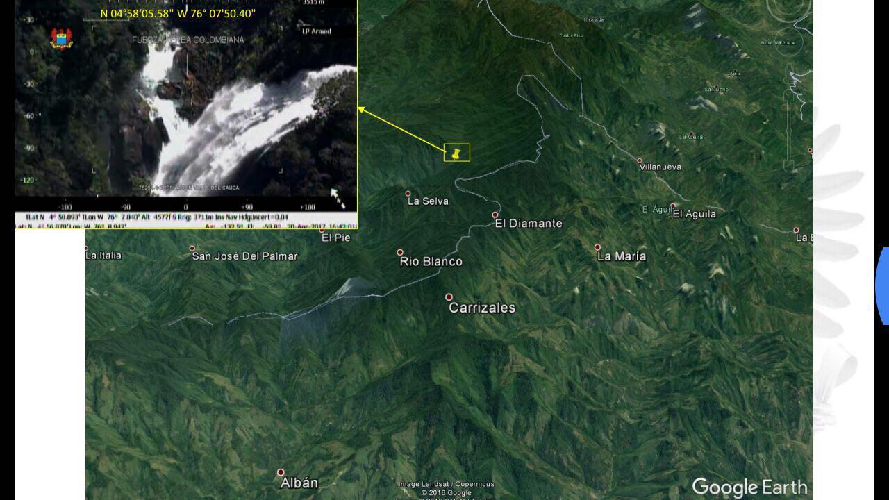 FAC advierte de posible avalancha en El Águila